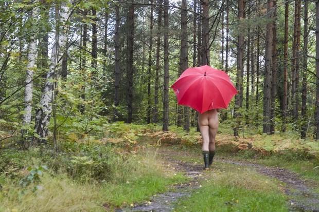 Autumn Implied Nude Photo print by Photographer StudioVi2