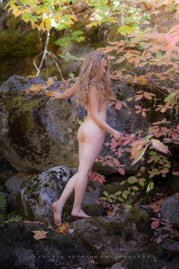 Autumn in the Valley Artistic Nude Photo print by Photographer fotografie %7C randall