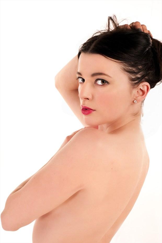 Backwards glance Artistic Nude Photo print by Photographer Doug Ross