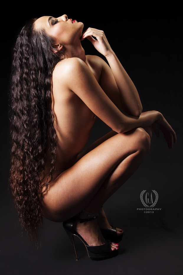 Beautiful Series Artistic Nude Photo print by Photographer G A Photography