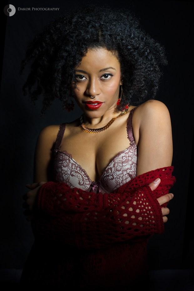 Beauty Lingerie Photo print by Photographer Kor