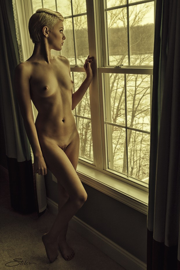 Beauv Window Artistic Nude Photo print by Artist Kevin Stiles