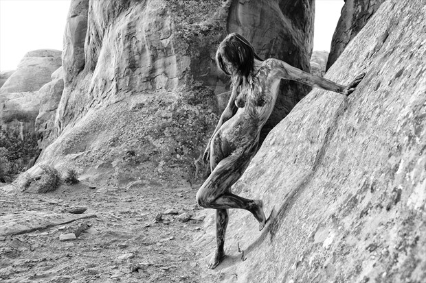 Becca in Moab Nature Photo print by Photographer Gunnar