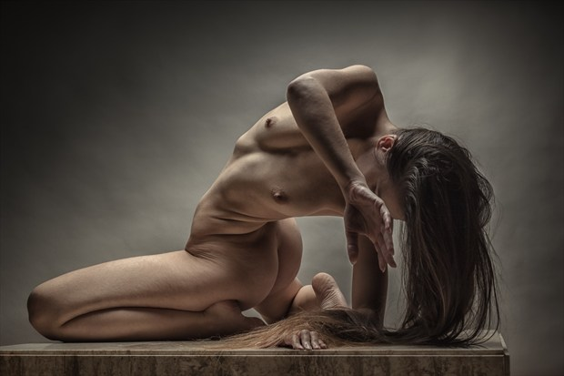 Bend and Twist Artistic Nude Photo print by Photographer rick jolson