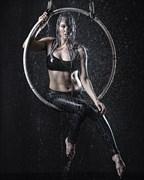Bikini Studio Lighting Photo print by Model Satya
