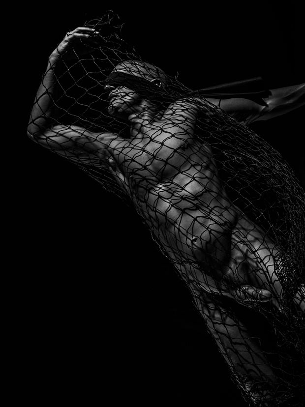 Blind Escape 1 Artistic Nude Photo print by Model Avid Light