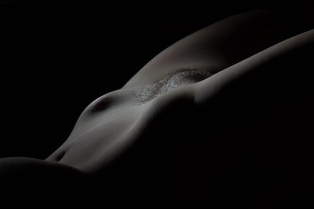 Bodyscape 2 Artistic Nude Photo print by Photographer Ghost Light Photo