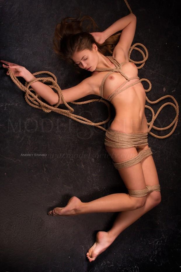Bondage Artistic Nude Photo print by Photographer Andrey Stanko