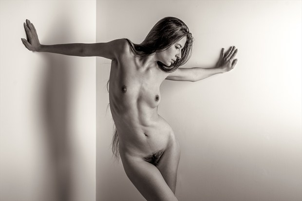 Brace Yourself Artistic Nude Photo print by Photographer rick jolson