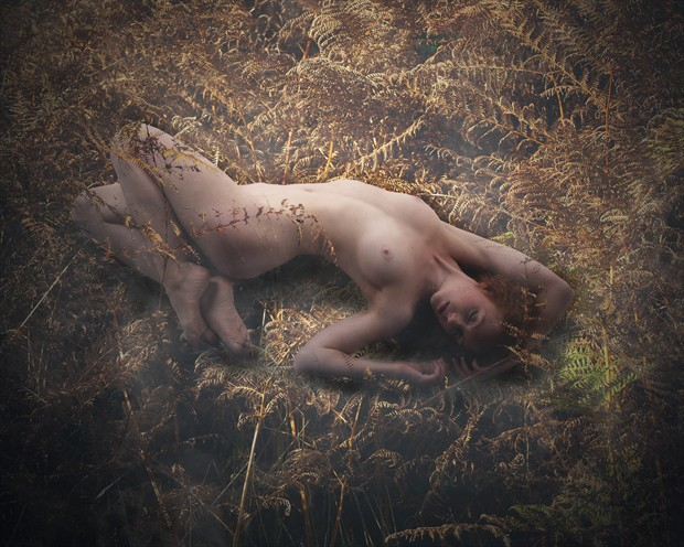 Bracken Artistic Nude Photo print by Photographer Ray Kirby