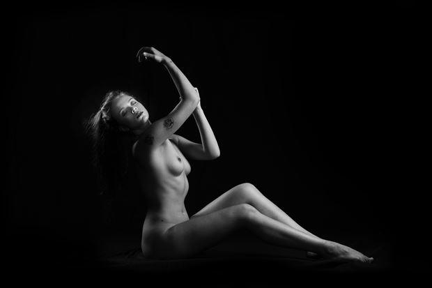 Break Free Artistic Nude Photo print by Model Aurora Red