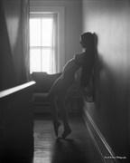 Breanna Marie, in Hallway