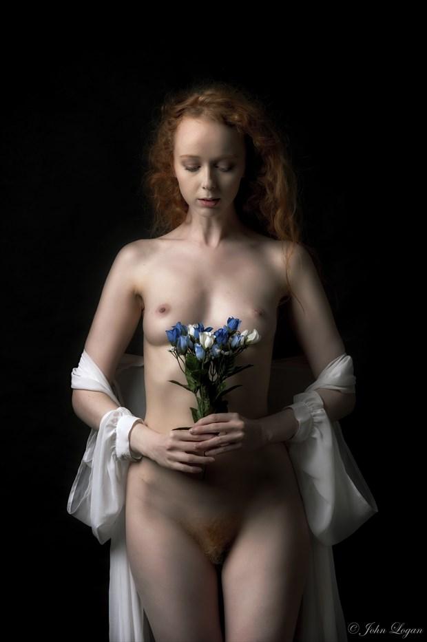 Bride Artistic Nude Photo print by Photographer John Logan