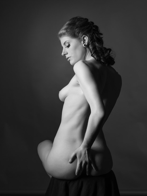 Camille nude study %231 Artistic Nude Photo print by Photographer Bruce M Walker
