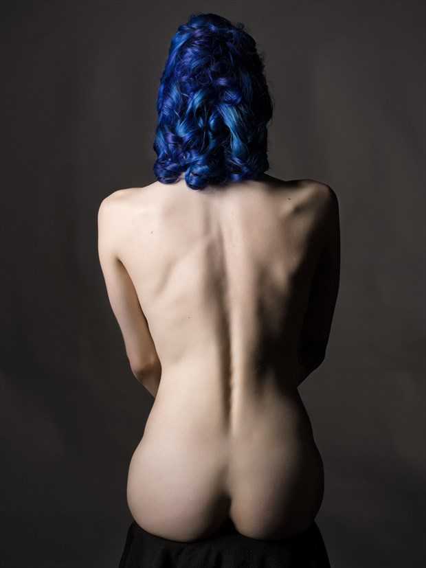 Camille nude study %232 Artistic Nude Photo print by Photographer Bruce M Walker