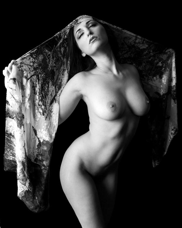 Carlotta Champagne %234 Artistic Nude Photo print by Photographer Z Inner Eye