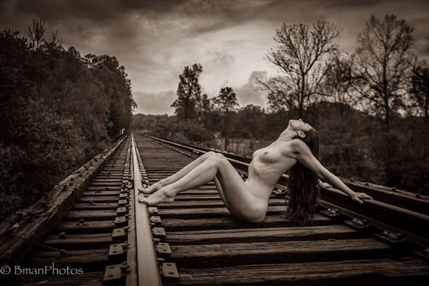 Celina Bobina Artistic Nude Photo print by Photographer BmanPhotos
