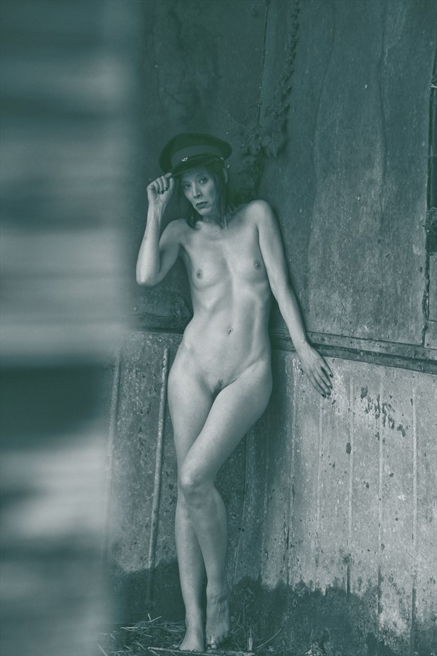 Chauffeured Seduction  Artistic Nude Photo print by Photographer Photorunner