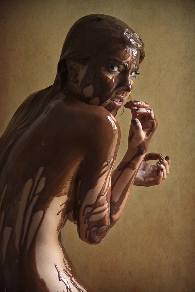 Chocolat Artistic Nude Photo print by Photographer Jos%C3%A9 M. Mendez