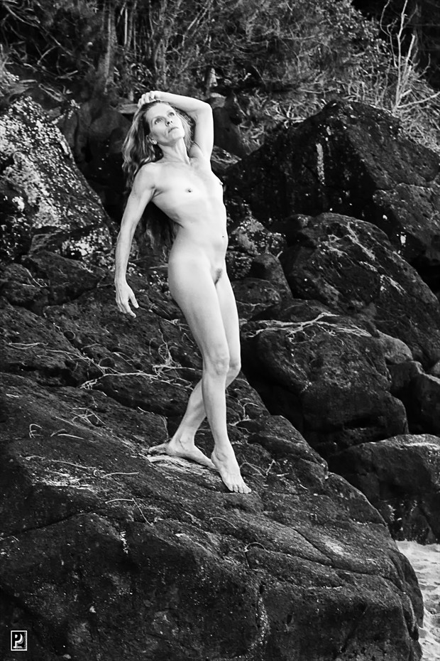 Classic Artistic Nude Artwork print by Photographer Thom Peters Photog