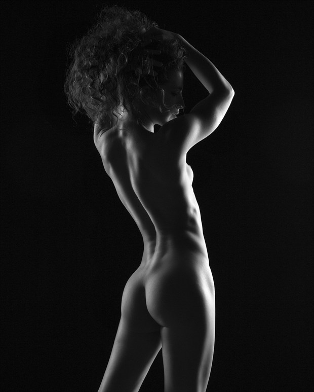 Classic Implied Nude Photo print by Photographer Dave Kelley Artistics
