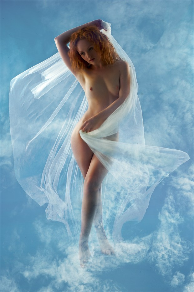 Cloud Walker Artistic Nude Photo print by Photographer Ray Kirby