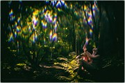 Come, See My Magic Garden Artistic Nude Photo print by Photographer Lanes Photography