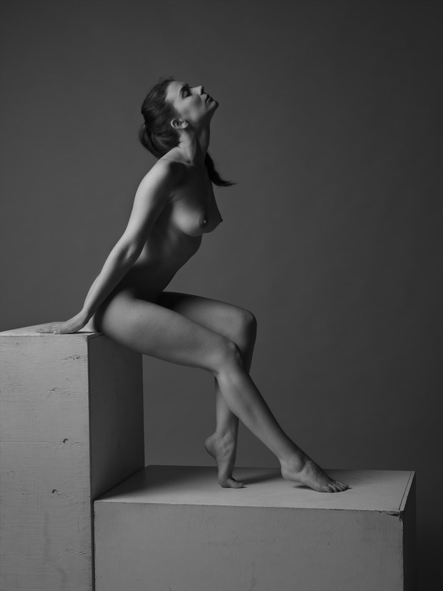Contact %232 Artistic Nude Photo print by Photographer Bruce M Walker