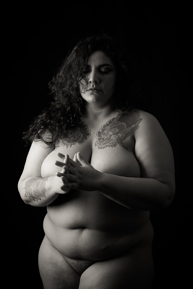 Contemplation Artistic Nude Photo print by Photographer Frisson Art