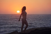 Coucher r%C3%AAver Artistic Nude Photo print by Artist AnneDeLion
