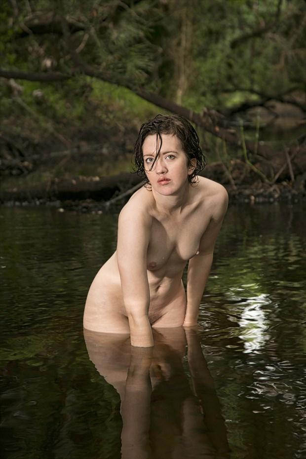 Creek Nude Artistic Nude Artwork print by Photographer Chris Gursky