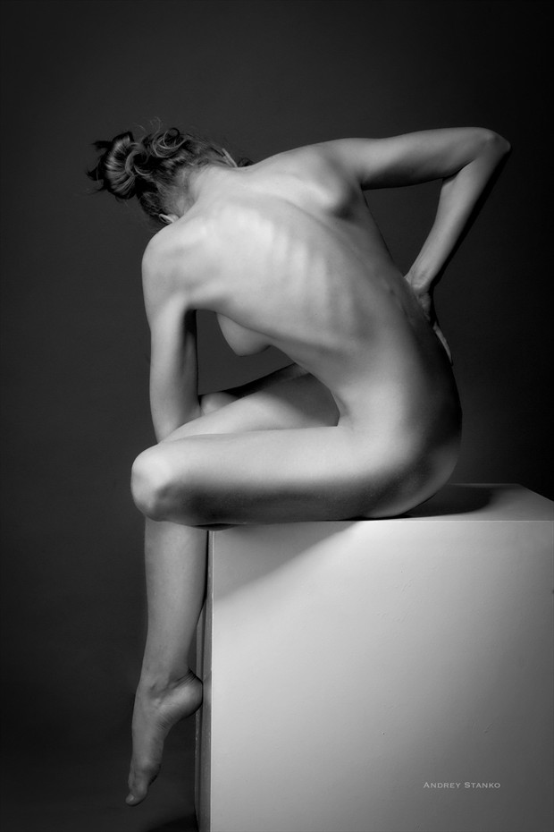 Cube Artistic Nude Photo print by Photographer Andrey Stanko