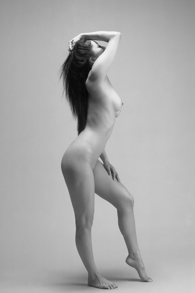 Dance Artistic Nude Photo print by Photographer Tadashi