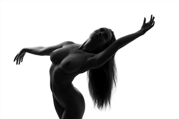 Dancing Sky Artistic Nude Photo print by Photographer Gunnar