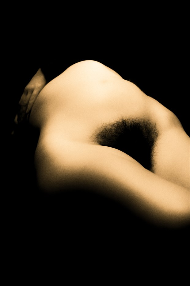 Dark Mystery Artistic Nude Photo print by Photographer BenGunn
