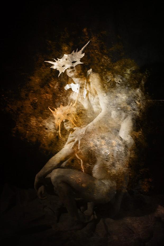 Demons Artistic Nude Photo print by Photographer Jos%C3%A9 M. Mendez