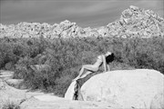 Desert Arch Artistic Nude Artwork print by Photographer Thom Peters Photog