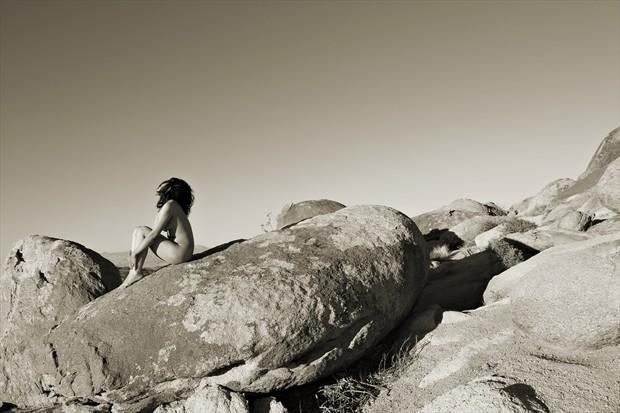 Destination Journey Artistic Nude Photo print by Photographer David Winge