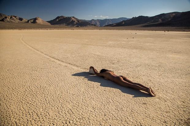 Devi   Race Track %232 Artistic Nude Photo print by Photographer Dan West