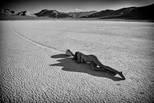 Devi   Race Track Artistic Nude Photo print by Photographer Dan West