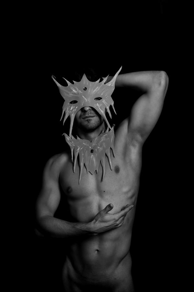 Devil Artistic Nude Photo print by Photographer Jos%C3%A9 M. Mendez
