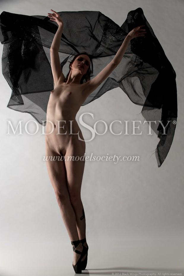 Devilish Mood Artistic Nude Photo print by Photographer Black Wings