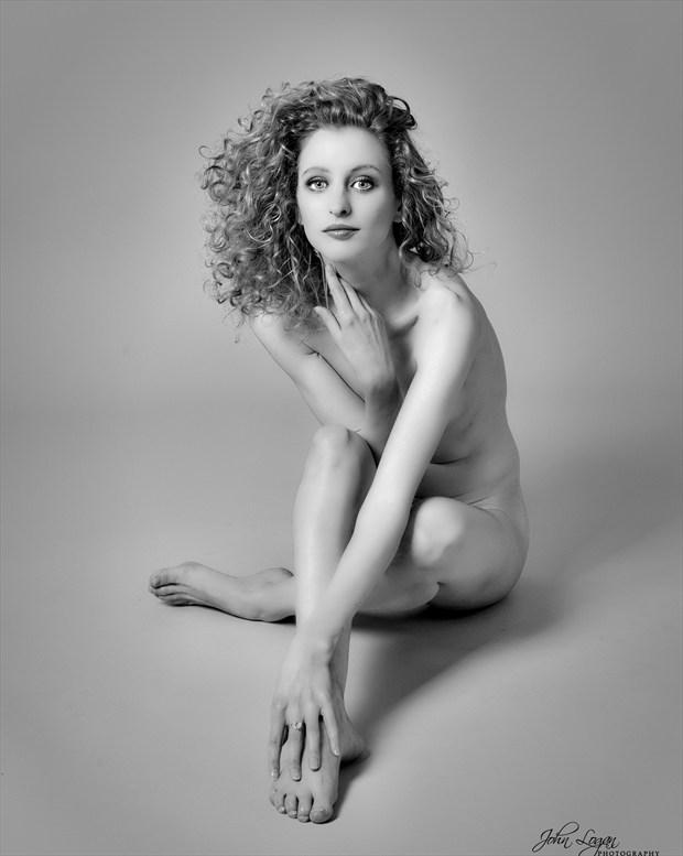 Diffident Artistic Nude Photo print by Photographer John Logan