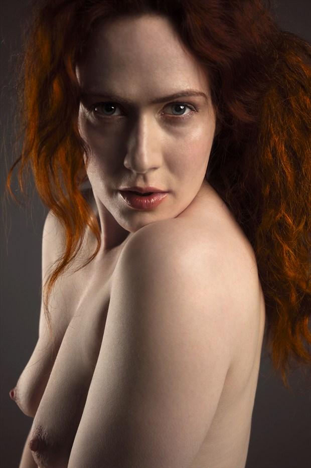 Direct gaze Artistic Nude Photo print by Photographer Doug Ross