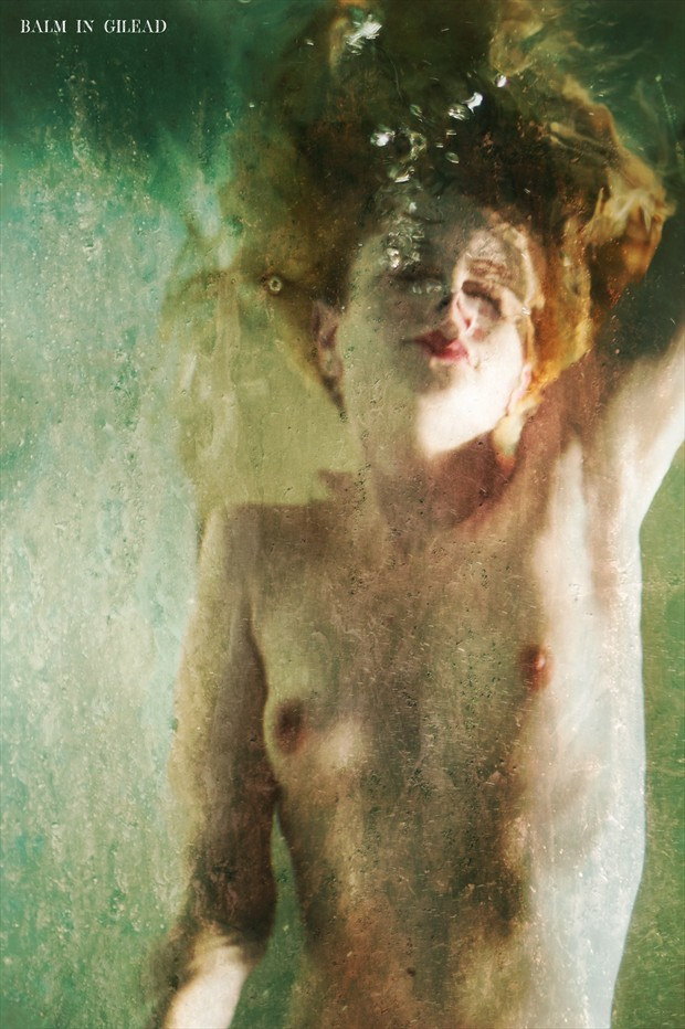 Drowning Artistic Nude Photo print by Photographer balm in Gilead