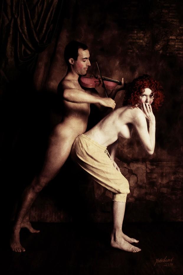 Duet Artistic Nude Photo print by Photographer Mark Davy Jones