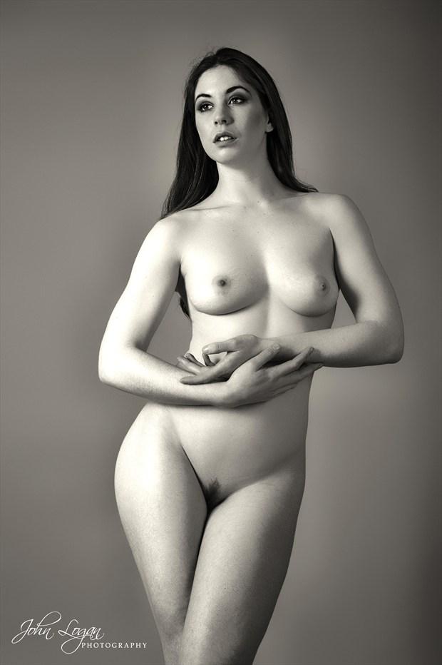 Elle Beth 2 Artistic Nude Photo print by Photographer John Logan