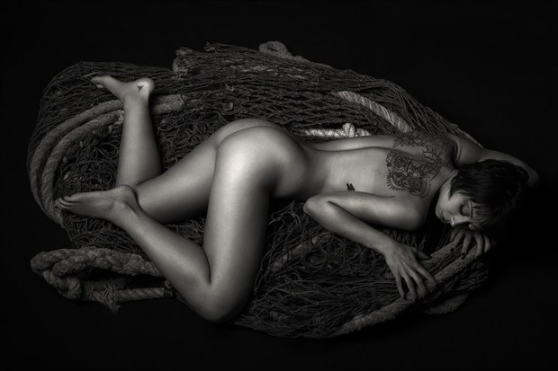 Emily Artistic Nude Photo print by Photographer CG Photography