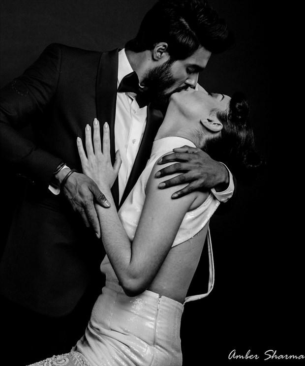 Erotic Vintage Style Photo print by Photographer Amber Sharma