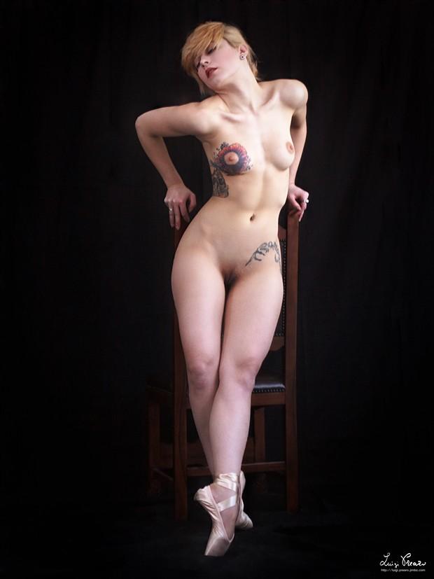 F. P. Artistic Nude Photo print by Photographer Luigi Prearo